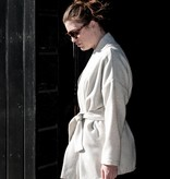 Hackwith Design Jacket with Invisible Side Pockets & Sash