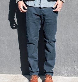 Kato Selvedge Stretch Chino in Navy