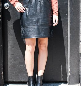 Just Female Mood Leather Skirt