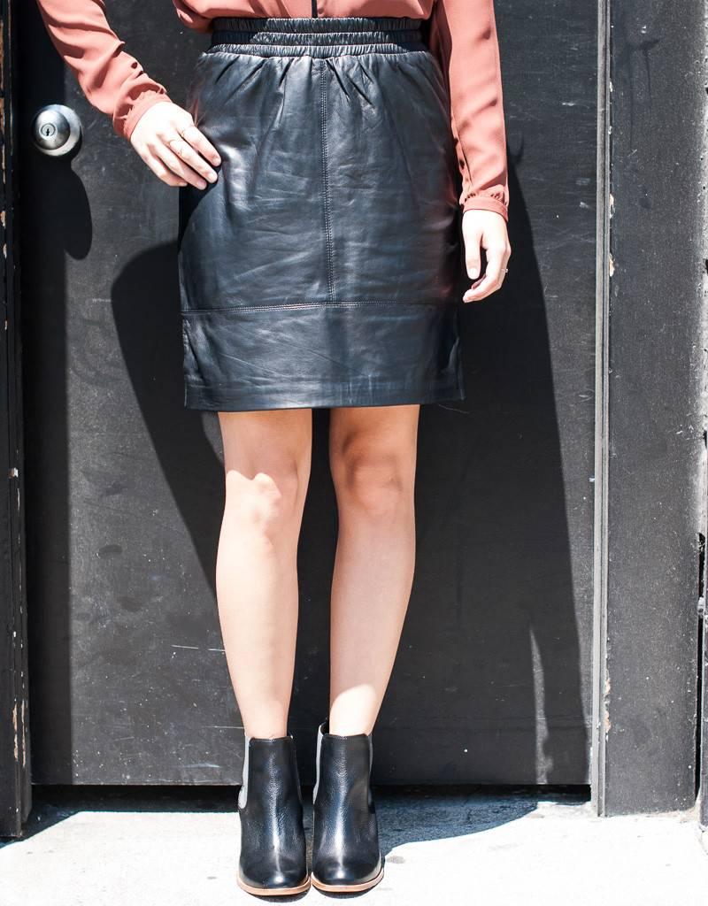 Just Female Mood Leather Skirt