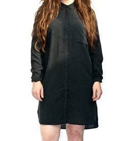 Just Female Terra Long Sleeve Long Shirt Dress