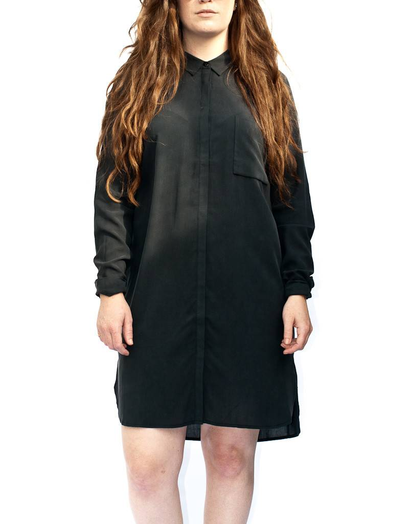 Just Female Terra Long Sleeve Long Shirt Dress