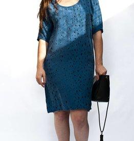 Make It Good Handprinted Fawn 3/4 Dress