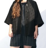Schott NYC Barn Wool Cape