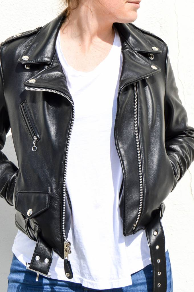 Schott NYC Lambskin Motorcycle Jacket