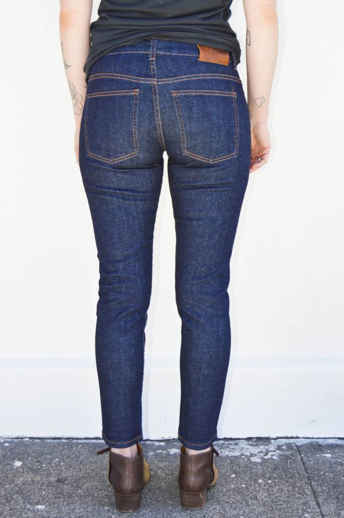 Naked and Famous Denim 11 oz. Stretch Selvedge Boyfriend Jeans ...