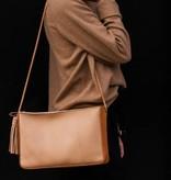 Minnie + George Pebble Grain Shoulder Bag- More Colors