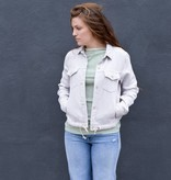 Mother Denim Straight A Drawstring Jacket