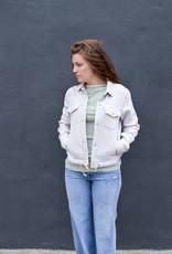 Mother Denim Straight A Drawstring Jacket