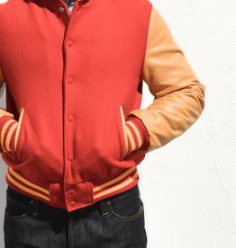 Golden Bear Sportswear Varsity Jacket with Shawl Collar