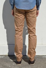 Naked and Famous Denim Beige Stretch Twill Pants
