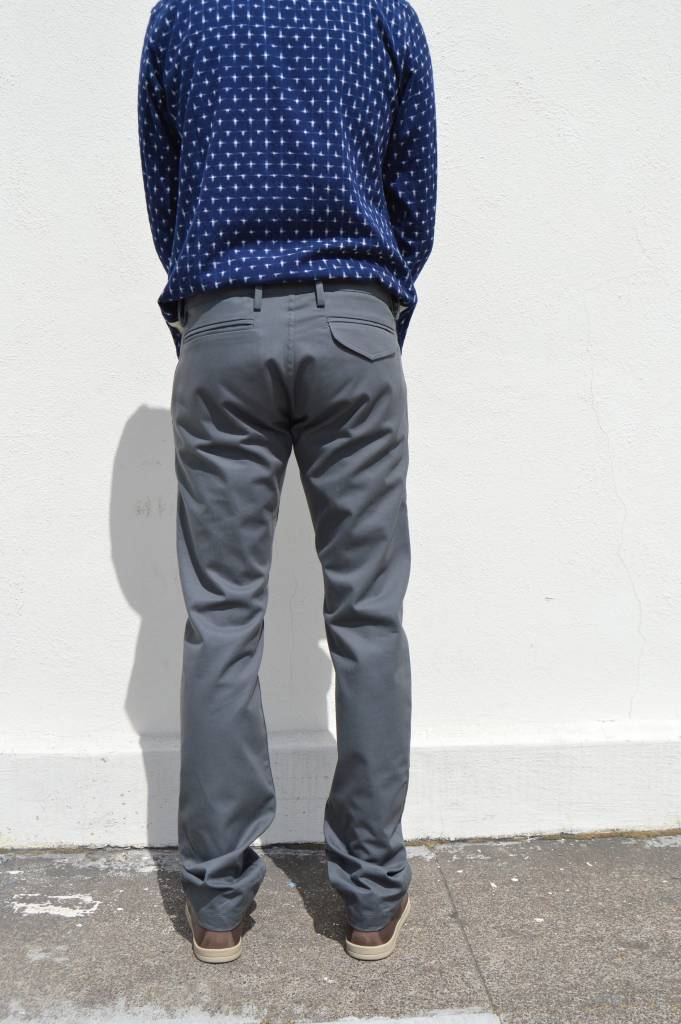 Rogue Territory Officer Trousers in Grey