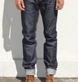 Big John Slim Tapered Jeans in Faux Slub 14oz. Sanforized Selvedge Denim