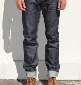 Big John Slim Tapered Jeans in Faux Slub 14oz. Sanforized Selvedge Denim
