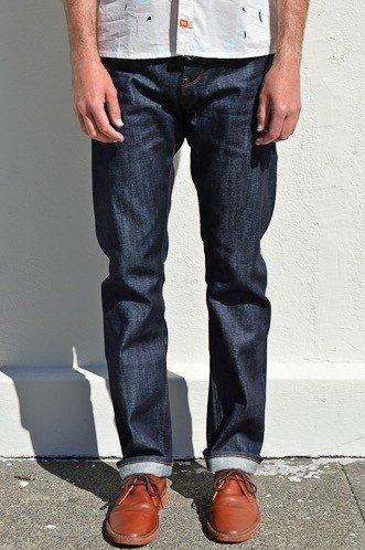 M2 Regular Indigo Unwashed Selvage Jeans