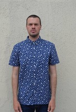 Kato Short Sleeve Button Down Shirt- More Colors