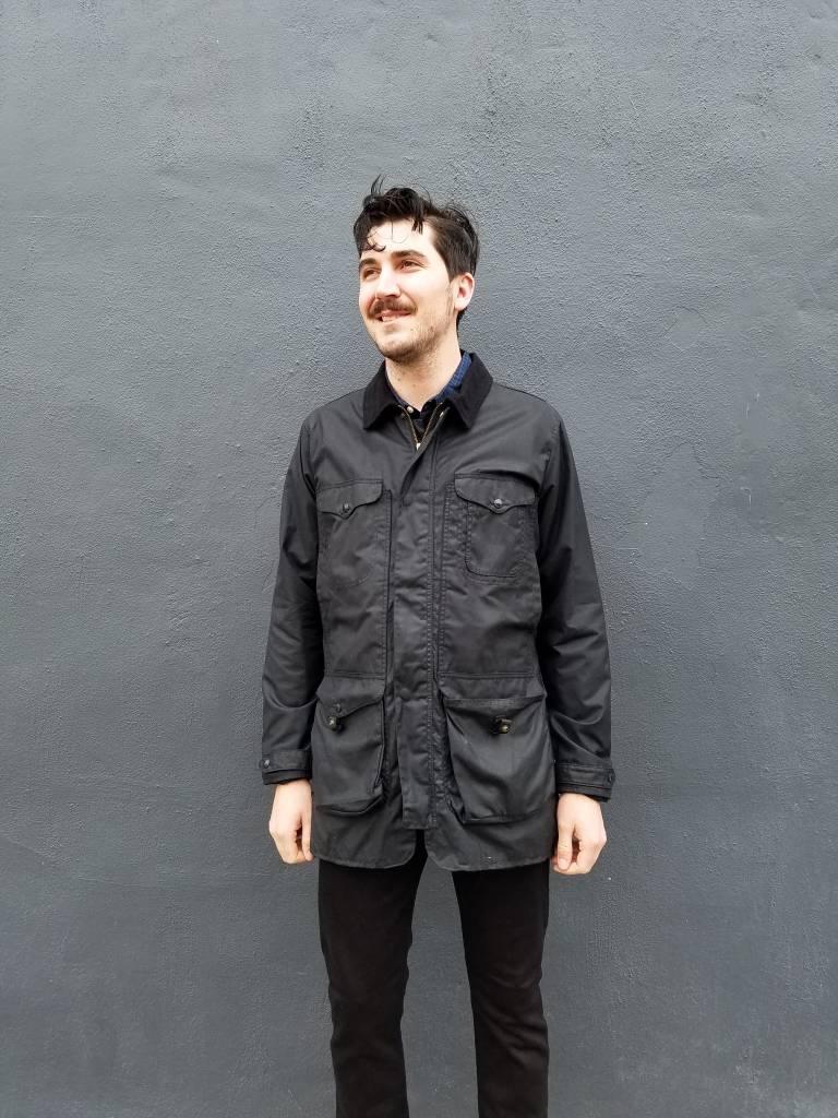 Filson Explorer Cover Cloth Jacket in Black