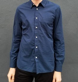Kato Slim French Seam Long Sleeve Shirt