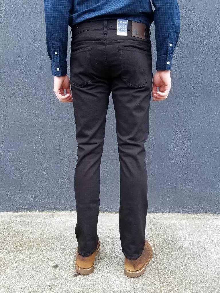C.O.F. Studio M1 Slim Jean in Rinsed Black
