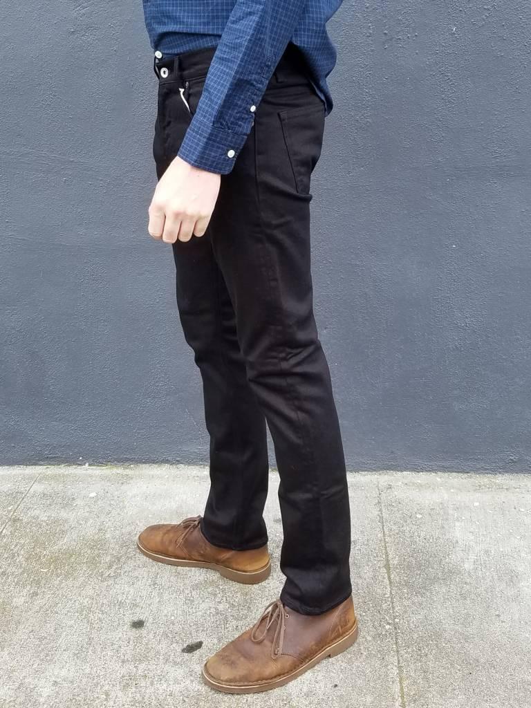 M1 Slim Jean in Rinsed Black