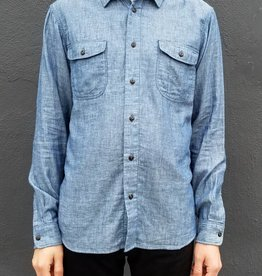 Kato Double Gauze Chambray Button Down