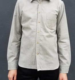 Rogue Territory Traveler Shirt in Grey Chambray