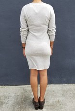 Crewneck Bodycon Dress