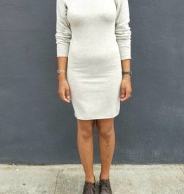Crewneck Bodycon Dress