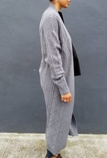 Cableknit Duster