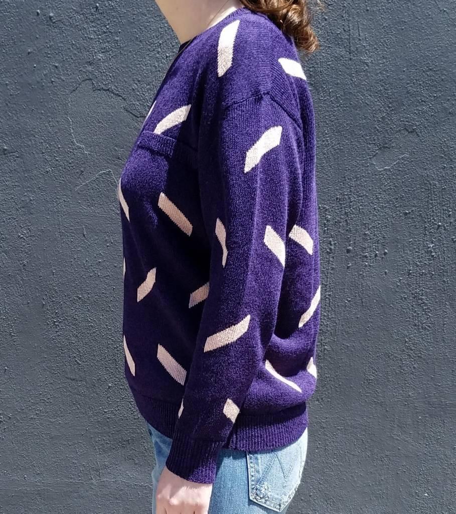 Geo Crewneck Sweater