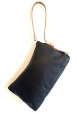 Knotted Leather Wristlet