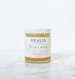 Rosewood and Grapfruit Sea Salt Scrub