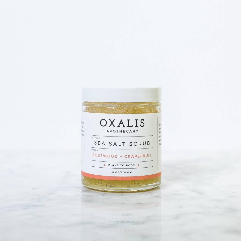 Rosewood and Grapfruit Sea Salt Scrub