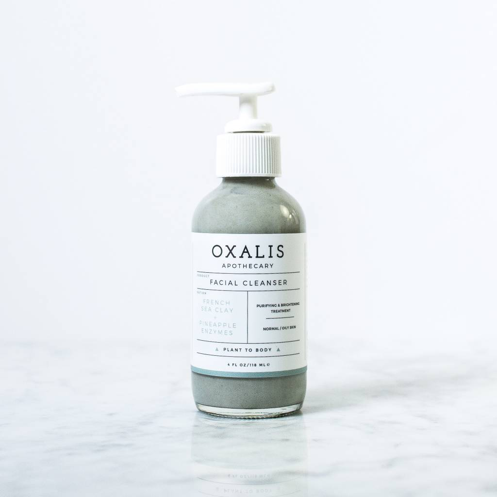 French Sea Clay Facial Cleanser