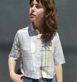 Spectrum Print Boxy Shirt