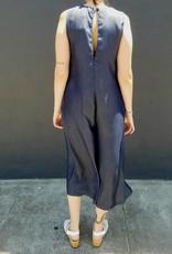 Button Down Tencel Jumpsuit