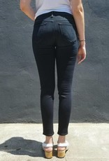 Mother Denim High Waisted Looker Jeans in Coffee Tea or Me