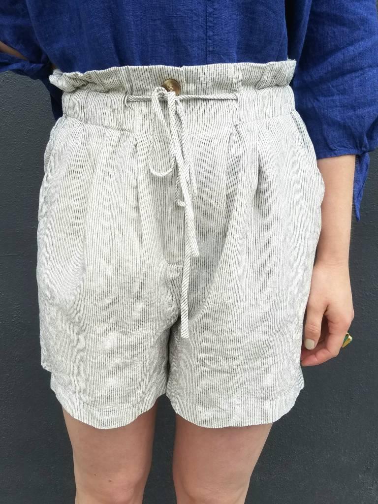 mo:vint Striped Bermuda Shorts