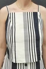 Striped Cami Crop Top