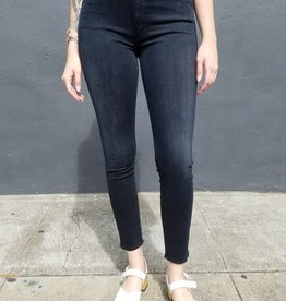 Mother Denim High Waisted Looker in Blackbird
