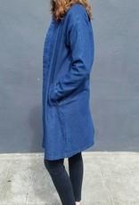 Button Down Denim Coat
