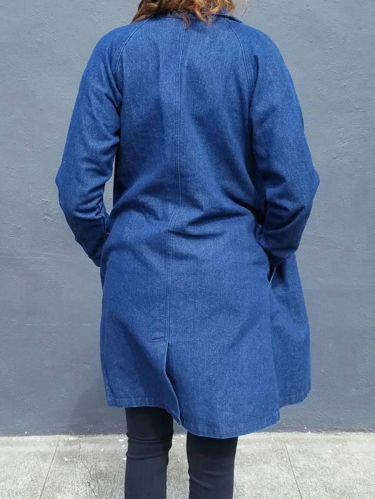 mo:vint Button Down Denim Coat