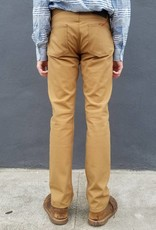 Naked and Famous Denim Selvedge Duck Canvas Pants in Weird Guy