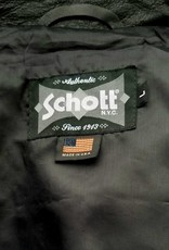 Schott NYC Vintaged Leather Cafe Racer Jacket