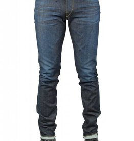 Kato Needle Skinny 4 Way Stretch Jeans in Ozone