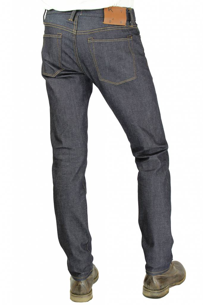 Kato Pen Slim Four Way Stretch Jeans in 10.5 oz Raw