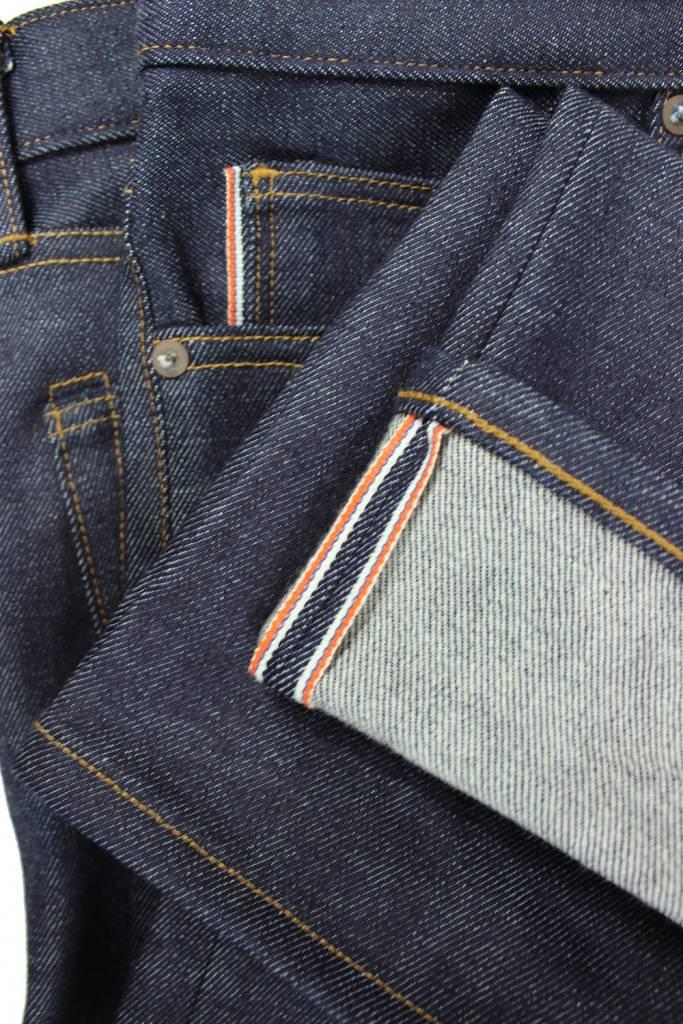 Kato Pen Slim Four Way Stretch Jeans in 14 oz. Raw