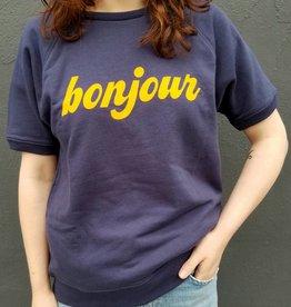 Bonjour Short Sleeve Sweatshirt