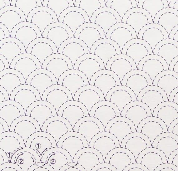 Sashiko Embroidery Sampler for Beginners