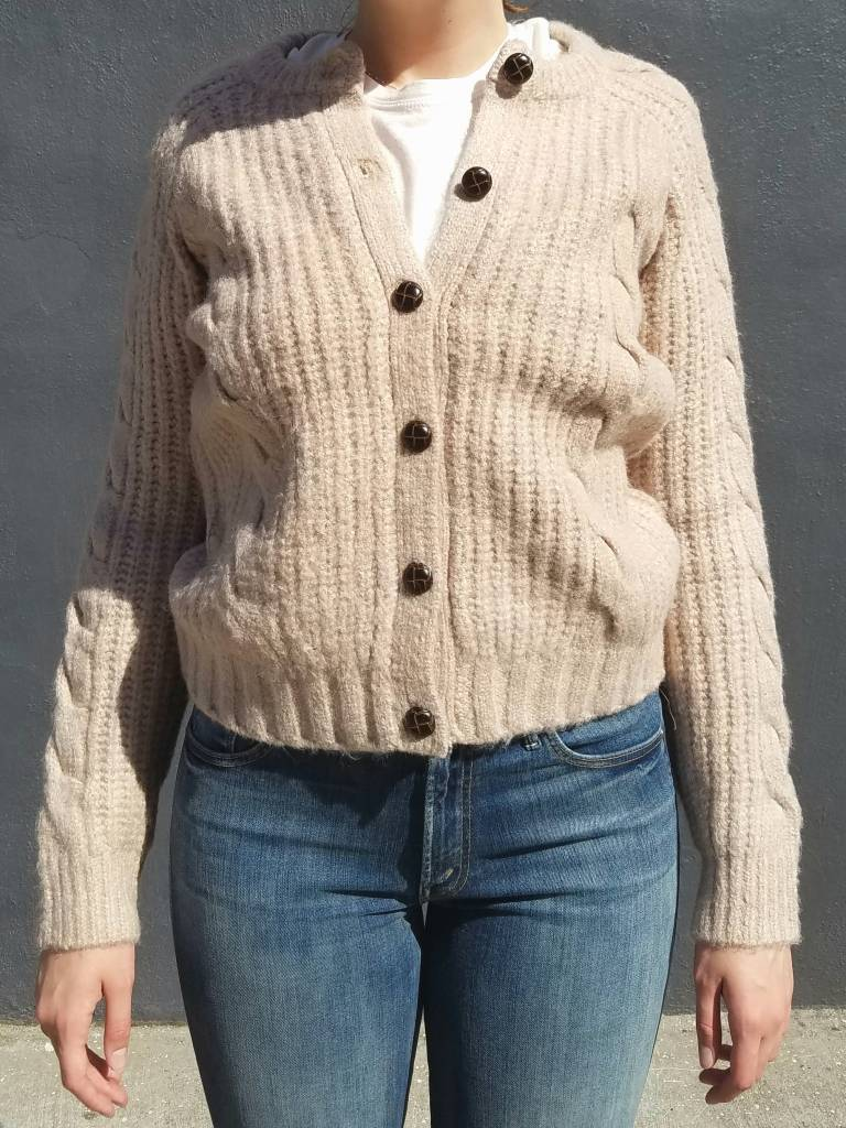 Cable Knit Cardigan - Seedstore